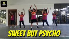 ZIN 83 | SWEET BUT PSYCHO | WARM UP | ZUMBA | ZIN LAREN SUNGA Up Music, Music Video Song, Music Videos, Zumba Warm Up, Music Publishing, Dance Workouts, Exercise, Songs, Sweet