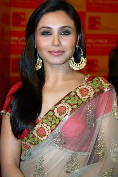 #rani #mukherjee - sleek straight side part