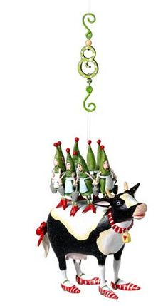 Department 56 Krinkles Twelve Days Eight Maids Ornament * Details can be found by clicking on the image.