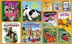 Little Golden Books Illustrate Why Visual Storytelling Is So Powerful #blog #storytelling #visual