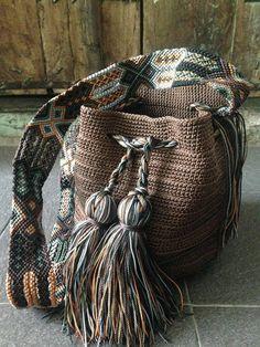 Otomiartesanal Mayan Morral Mochila bag