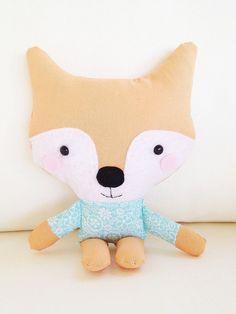 Adorable fox plush toy pattern