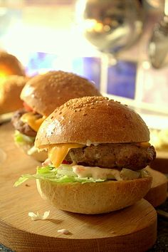 *Homemade spicy #burgers. Can translate to English. ~C~