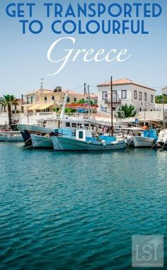 Get transported to colourful Greece. Spetses is an island near Athens, in Greece, that doesn't have cars on it, and is instead home to a variety of  step-back-in-time vehicles like horse and carts, three wheeling tuk-tuks and more up to date Vespas. It's also the place to travel to to see Grecian blue in its many brilliant shades.