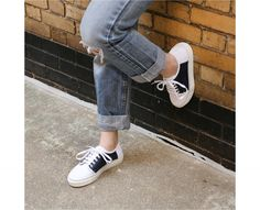 721895e376f Dallas Sneakers Navy Leather Sneakers