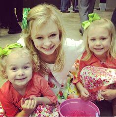 Cassadee, Cambree, & Chanlee on Easter    (Cassadee Dunlap's photo not mine)