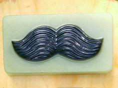 Mustache Soap, Men Soap, Valentine's Day Gift, Father's Day Soap, Barber Shop Mustache, Glycerin Soap by NaTaReCreations on Etsy