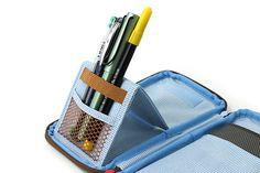 Jam Studio Pop-up Folding Pencil Case - Green - Qué lapicera!!! Se acepta de regalo post-cumpleaños!!