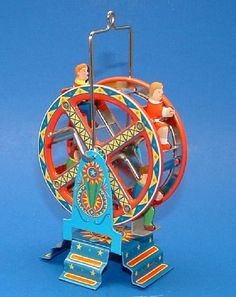 Schyling has the best time recreating vintage tin toys for everyone to enjoy!