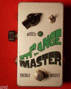 Treble Booster: Throback StrangeMaster