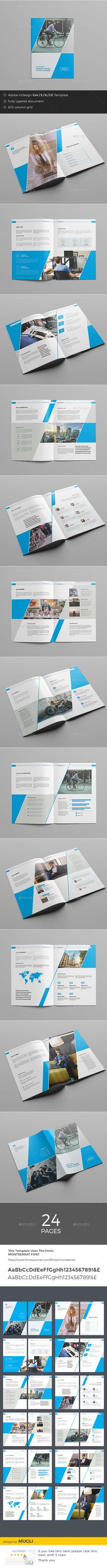 Corporate Brochure  — InDesign Template #modern #identity • Download ➝ https://graphicriver.net/item/corporate-brochure/18012551?ref=pxcr