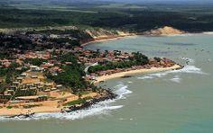 A bela praia de Baia Formosa / The beautiful beach of Baia Formosa,