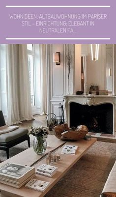 #einrichtungsideen schlafzimmer grau blau Wohnideen: Altbauwohnung im Pariser Stil – Einrichtung: Elegant in neutralen Fa…