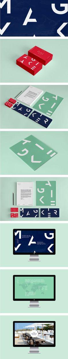 Magic Maker Co. Branding by Jone Fjellstad on Behance   Fivestar Branding – Design and Branding Agency & Inspiration Gallery