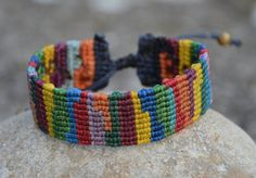 Chaos 2 Macrame Bracelet Handmade