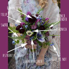 FiftyFlowers - Boho Berry Bouquet Breakdown