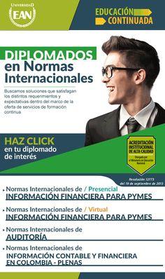 #NOVOCLICK esta con @UniversidadEAN #DiplomadoEnNormasInternacionales