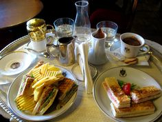 Toast and coffe at Caffe Florian -Cafe Florian- St. Mark's Square, Venice!