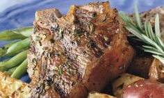 Weber BBQ Recipe...Rosemary Lamb Chops with Grill-Roasted Potatoes
