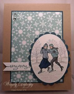 Stampin Up Winter Post