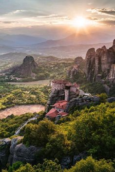 Meteora Monastaries - Kalabaka, Central Greece