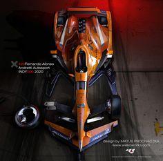 F1.sk - Parádna práca zo slovenskej dielne: Alonso ako víťaz Indy 500 pre rok 2020