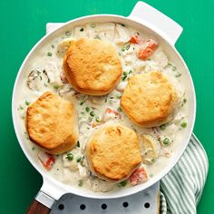 Creamy Chicken & Biscuits  - Rachael Ray Every Day