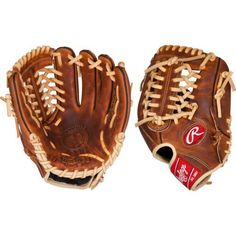 Rawlings Heritage Pro in Baseball Glove Brown - Baseball Equipment, Softball Baseball Gloves And Mitts at Academy Sports