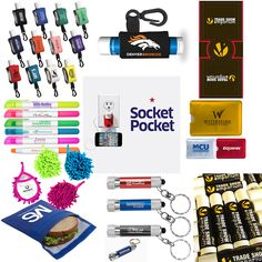 creative trade show giveaways Company Swag, Fast Signs, Swag Ideas, Trade Show Giveaways, Job Fair, Marketing Ideas, Goodie Bags, Event Decor, Promotion