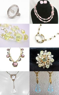 Glass and Crystal  -VJSE Wedding Treasury by Cleaver White on Etsy--Pinned with TreasuryPin.com