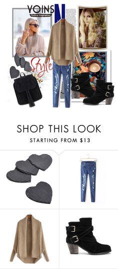 """""""YOINS 18"""" by nedim-848 ❤ liked on Polyvore featuring moda, women's clothing, women, female, woman, misses, juniors i yoins"""