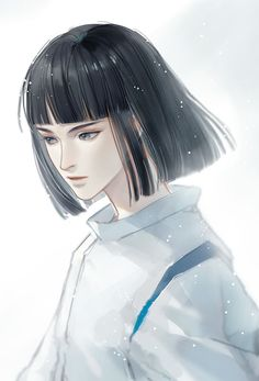 Studio Ghibli Films, Studio Ghibli Art, Manga Art, Anime Art, Chihiro Y Haku, Kohaku, Handsome Anime Guys, Howls Moving Castle, Spirited Away
