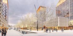Orange Architects - Project - Vasilievsky Island competition St. Petersburg