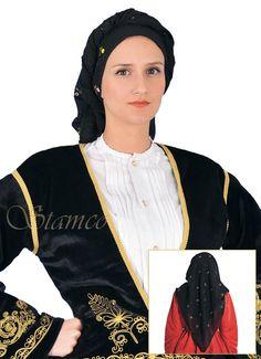 TRADITIONAL EMBROIDERED SCARF - 647518 #Greece #Greek_tradition #Scarf #Apron #Folk #Embroidery #European_fashion #folk_art