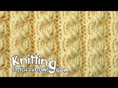 Cross-Stitch Cable | Knitting Stitch Patterns