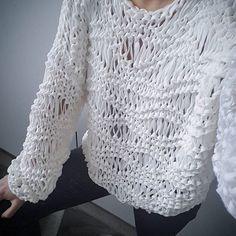New season new pattern kirobykim cottonsweater Knitting Blogs, Loom Knitting, Knitting Stitches, Hand Knitting, Knit Cardigan Pattern, Sweater Knitting Patterns, Knitting Designs, Crochet Blouse, Knit Crochet