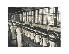 30DD (@thirtydd) | Twitter- Rigby & Peller UK ‏@rigbyandpeller  - In 1939 two corsetieres founded Rigby & Peller in #London - this photo shows where the original #corsets were made