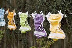 Cómo lavar pañales de tela