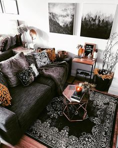 My cozy living room, styled with rustic home decor pieces. The perfect spot for … My cozy living room, styled with rustic home decor pieces. The perfect spot for a hygge home mindset. Cozy Living Rooms, Home Living Room, Apartment Living, Living Room Designs, Living Room Decor, Gothic Living Rooms, Rustic Apartment, Deco Studio, Studio Apartment Decorating