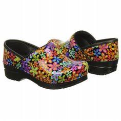 Women's Dansko Professional Flower Print Patent Shoes.com