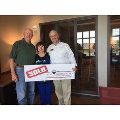 Congratulations to Tony & Janice p. on the sale of their house with Team George Weeks & Eddie Mann ! #sold #teamgeorgeweeks #myagenteddiemann