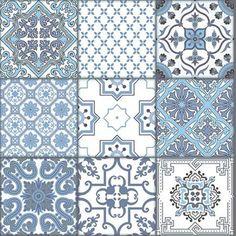 Напольная плитка: Плитка Almera Ceramica Patchwork Blue, Цена: 274.00 грн. (код товара: 255323) Интернет-магазин Saten