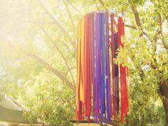 Ribbon Chandeliers
