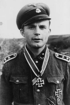 ✠ Kurt Franke (13 June 1915 – 19 January 1945) Mortally wounded and died in Hospital.
