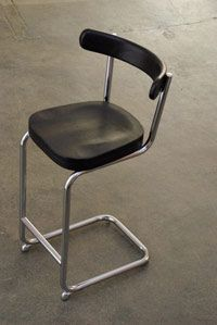 "25"" Thonet Stool / York Street Studio stool"