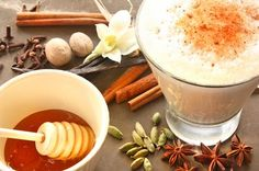 Turmeric Latte - A turmeric drink before bed can also reduce any swelling from the day.