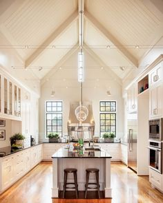 I could spend all day in this kitchen!