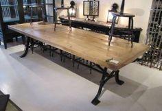 Italian industrial table