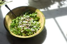 Cilantro Salad Recipe- via Heidi Swanson of 101 Cookbooks.
