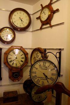 Victorian station clock